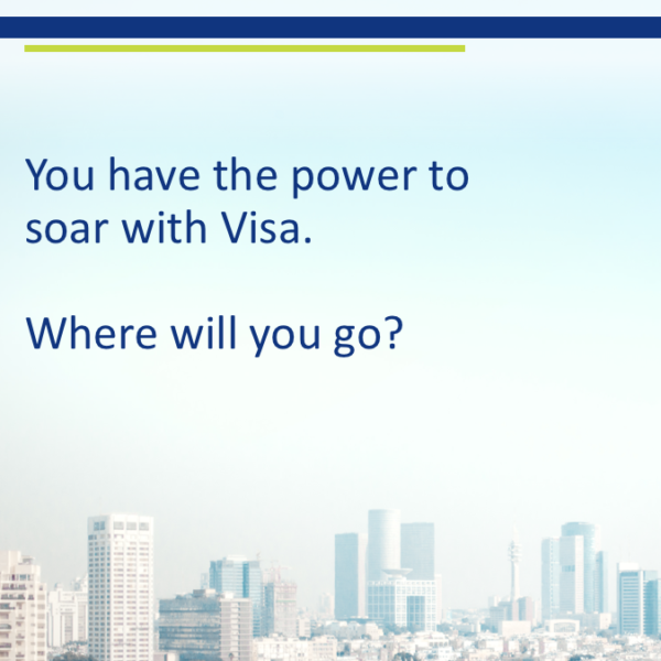 Visa Human Resources Rebrand